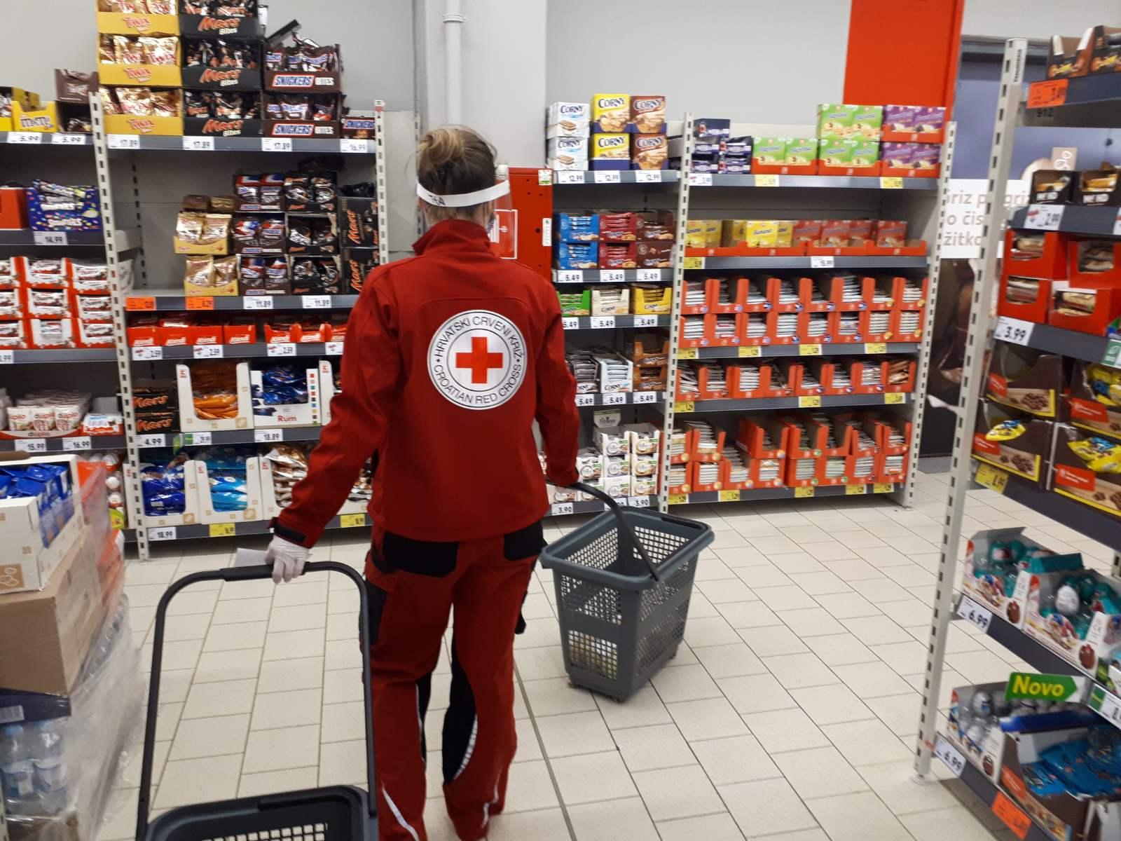 Volotnerska u supermarketu