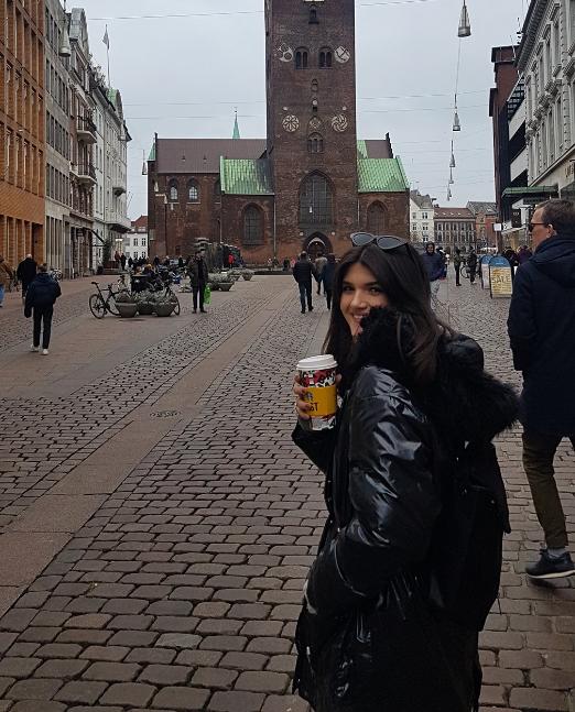 Studentica Valentina u Arhusu, Danska